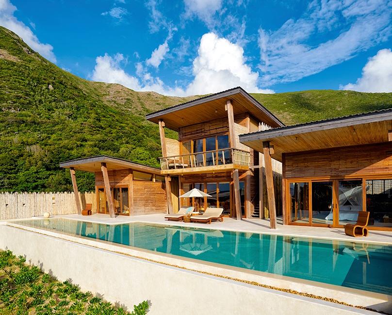 Six Senses Con Dao 4 bedroom ocean view pool villa